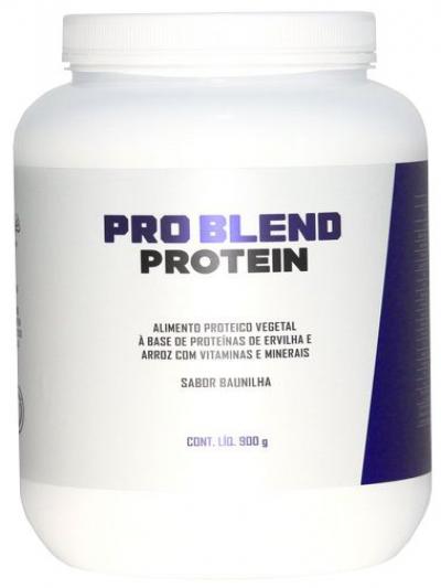 Pro Blend Protein - Alimento Proteico Vegetal Proteínas de Ervilha e Arroz com vitaminas e minerais